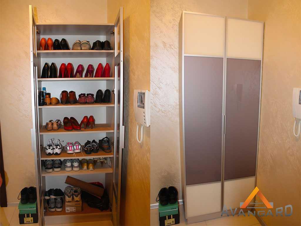 шкаф и стеллаж для прихожей